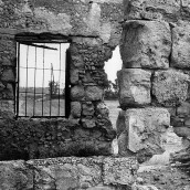 palestinian house and old window